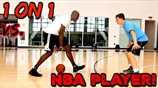 1 ON 1 GAME VS NBA PLAYER!!!
