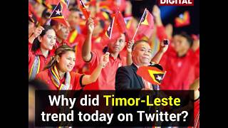 Filipinos cheer Timor Leste in SEA Games 2019