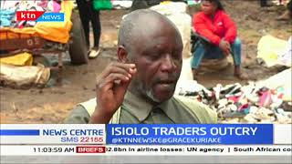 Anger among Isiolo Town Market Traders as they decry poor state of Market