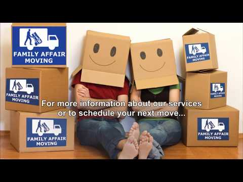 Moving Company in Orange County Family Affair Movers OC Irvine