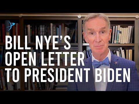 Bill Nye's Open Letter to President Biden & Vice President Harris
