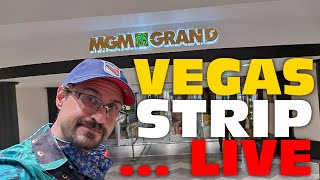 Walking The Las Vegas Strip LIVE - Only Cool Peeps Allowed!