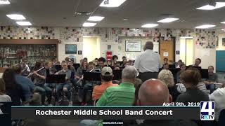 Rochester Middle School Band Concert - 4-9-19