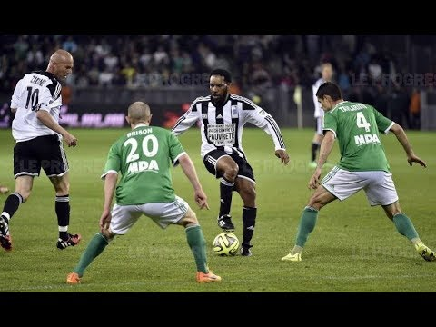 Jay Jay Okocha vs St. Etienne (Ronaldo & Zidane Friends Charity Match 2015)