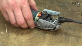 Dremel Rotary Tool Repair - How to Replace the Shaft Lock
