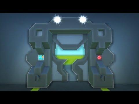 10 Door Designs and Ideas! - Scrap Mechanic Creations!