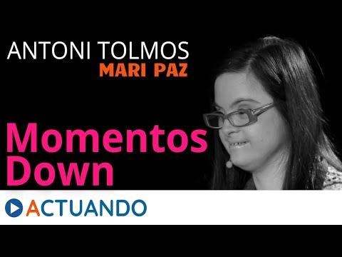 Watch videoMomentos Down: Antoni Tolmos & Mari Paz Valero