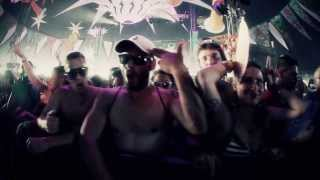 The Sickest Squad vs Randy 909 vs Radium @ Monegros Desert Festival 2013