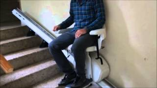 Silla salva escaleras discapacitados Ingesea Movilidad 1 www.ingesea.es