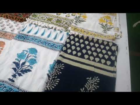 Meera Handicrafts Block Printed Stole