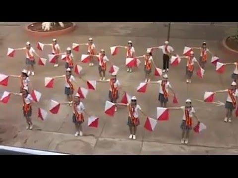 Semaphore đồng diễn chuẩn HĐĐ tỉnh Bình Phước