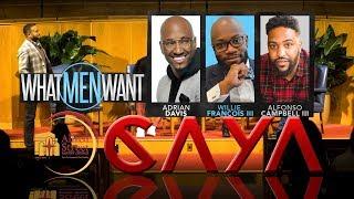 "December 4, 2019 CAYA ""What Men Want"", Hosted by Rev. Dr. Howard-John Wesley"