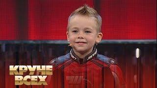 """4-летний мотоциклист Тимур Кулешов - в студии """"Круче всех"""""""