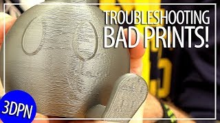 3D Printing 101: Troubleshooting a Bad Print / Installing a New Nozzle