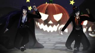 【MMD】Kamui Gakupo & KAITO - Happy Halloween