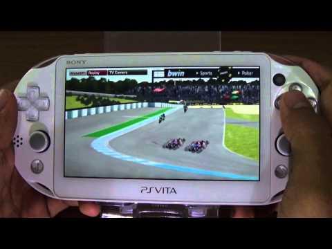 PS Vita Gameplay: MotoGP 14