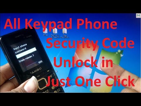 how to unlock any password lock keypad mobile just 5 second