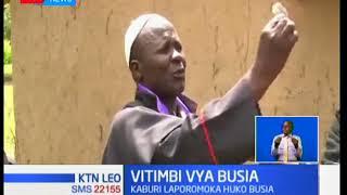 Vitimbi Busia kaburi la askofu likiporormoka baada ya siku tatu tangu kuzikwa