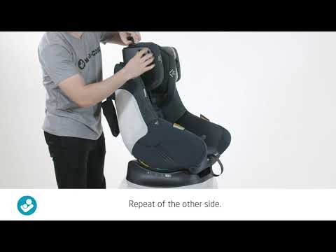 Maxi Cosi Vita Pro: How to remove the head rest cover for washing