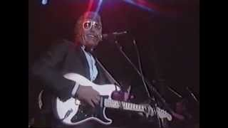 """Carl Perkins, Keith Richards, BB King - """"Blue Suede Shoes"""" Live at 1987 Induction"""
