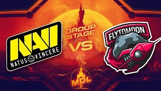 NaVi vs FlyToMoon Game 2 - MDL Paris Major CIS Qualifiers: Group Stage