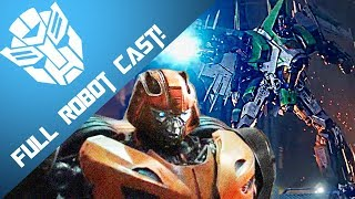 Bumblebee: The Movie - Full Robot Cast (Official) [TRANSFORMERS]