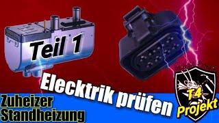 Standheizung Zuheizung Reparatur Elektrik Kontrolle