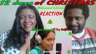 12 Days of Christmas (Millennial Edition)llSuperwomanll ft. Try Guys REACTION