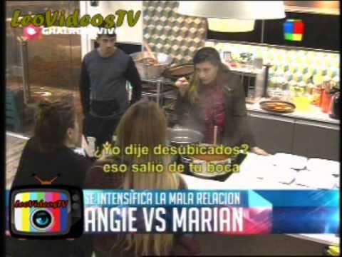 Angie Vs Marian el cruce GH 2015 #GH2015 #GranHermano