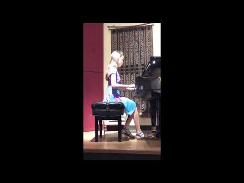 Student Plays Canon in D arr. Faber