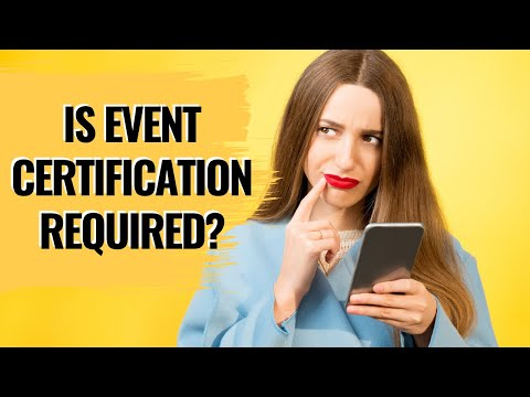 DO YOU NEED TO BE CERTIFIED TO BE AN EVENT PLANNER ...
