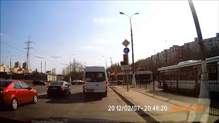 Дорога в Автосалон Роско на автомобиле