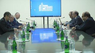 ԱԳ նախարարի պաշտոնակատար Արա Այվազյանի հանդիպումը Հայաստանում հավատարմագրված ՀԱՊԿ անդամ երկրների դեսպանների հետ