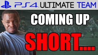 COMING UP SHORT! Madden 15 Ultimate Team Gameplay | MUT 15 PS4 Gameplay
