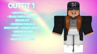 Hmongbuy.net - 10 GIRLS ROBLOX OUTFIT IDEAS 2017 | ROBOMAE.X