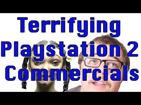 Terrifying Playstation 2 Commercials | Cult Popture