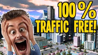 How Did We Hit 100% PERFECT Traffic Flow in Cities Skylines??? #TeaVille