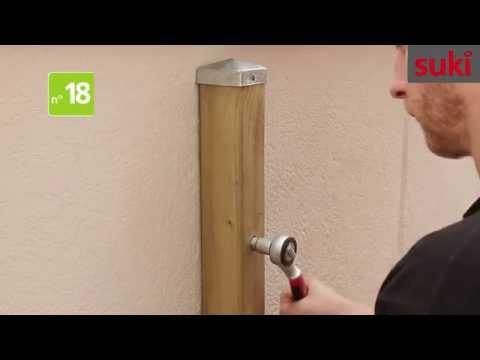 18 Schlüsselschraube / Tirefond extérieur