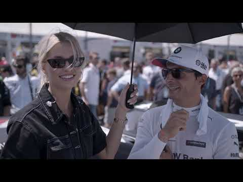 On a very special DTM tour with Lena Gercke – BMW M Motorsport.