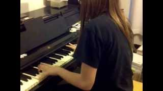 Doctor Who Theme on Piano
