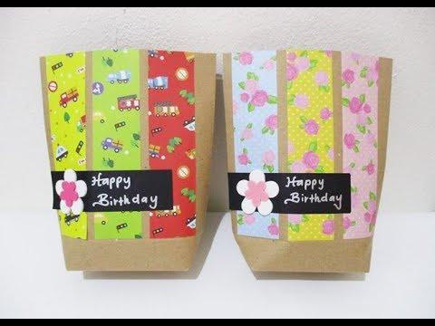 DIY #250 | Cute Paper Bags For Gift ❤