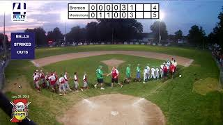 Town and Country 12U State Finals Game #4 Bremen vs Mississinewa 7-26-19