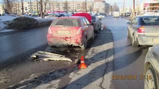 Водитель скрылся с места аварии