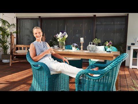 Terrasse umgestalten mit Farbe und Eva Brenner