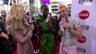 Danai Gurira Red Carpet Interview - AMAs 2014