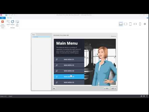 Articulate Storyline 360: Creating Your First Slide - YouTube