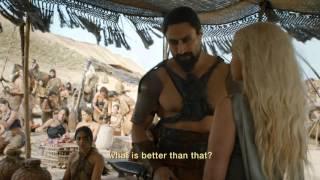 Game Of Thrones Season 6: Episode #1 Clip - Daenerys Meets Khal Moro (HBO)