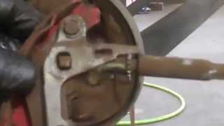 Rear Brake Shoe Replacement Toyota Tercel 1991 1998 Paseo Drum Brakes Install Remove Replace