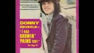 Donny Osmond teenager in love