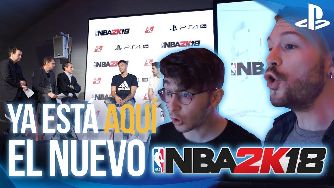 Los hermanos Hernangómez presentan NBA 2K18 en Madrid
